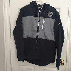 NWT Chicago Bears Nike Hooded Jacket size L